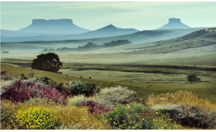 """Table Mountains In Kwazulu Natal"""