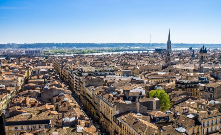 """Aerial View Of Bordeaux"""