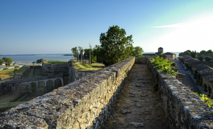 """Blaye Historic Town Walls"""