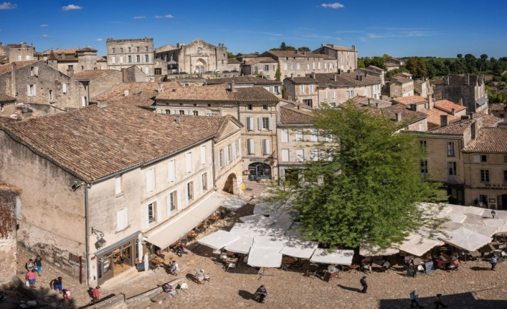 """Town Of Saint Emilion Bordeaux"""
