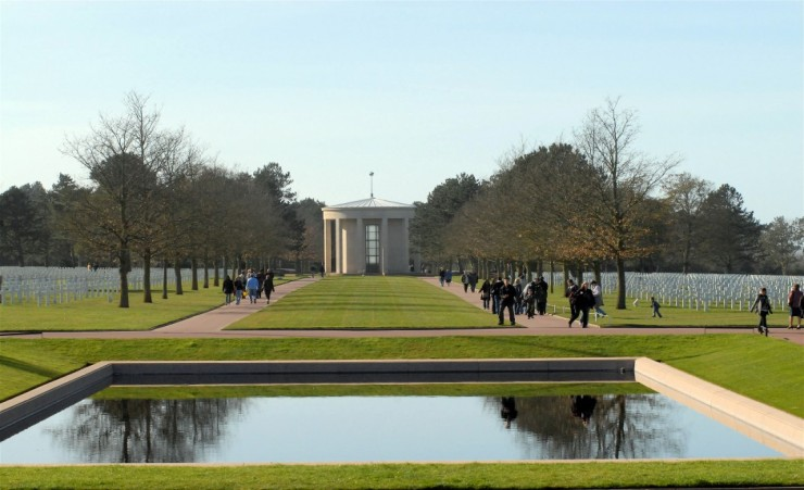 """Normandy American Cemetery And Memorial"""