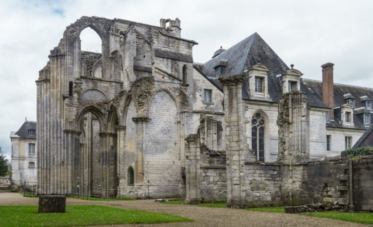 """Saint Wandrille Abbey"""