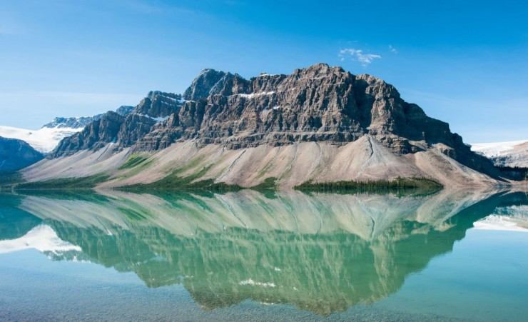 """Bow Lake In Banff National Park"""