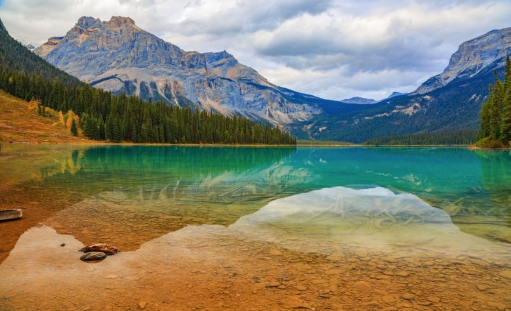 """Emerald Lake In Yoho National Park"""