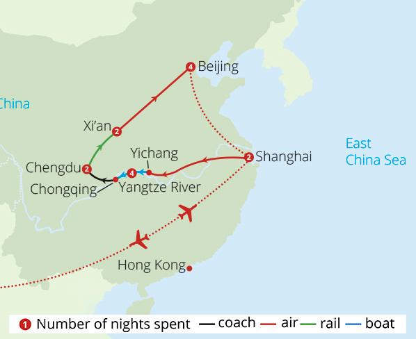 China tours escorted tours of china mercury holidays wonders of china freerunsca Images
