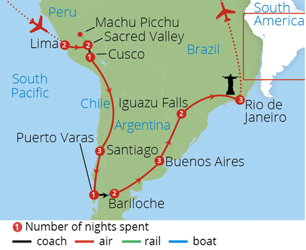 Brazil and Argentina Tours  Escorted Tours of Brazil and