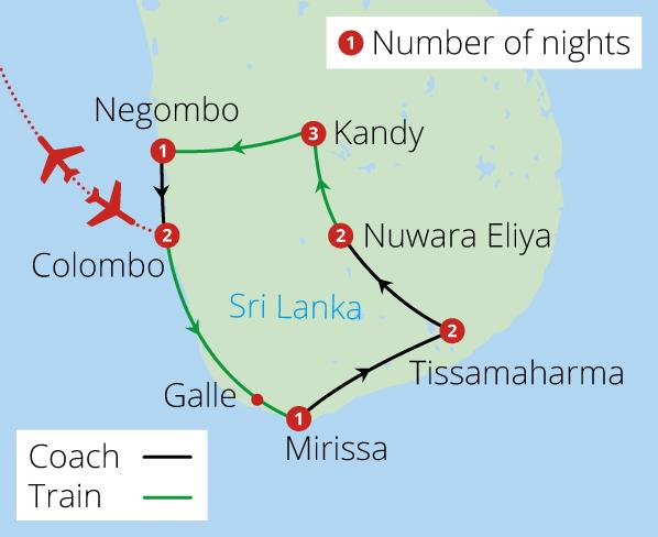Splendours of Sri Lanka by Rail - Sri Lanka Tours | Mercury Holidays