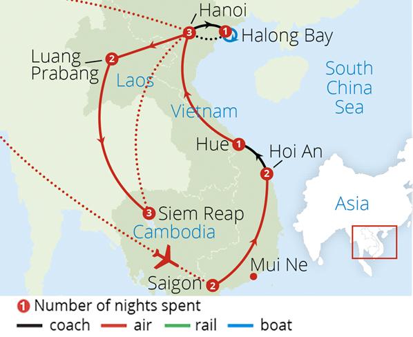 Vietnam Laos And Cambodia Indochina Tours Mercury Holidays