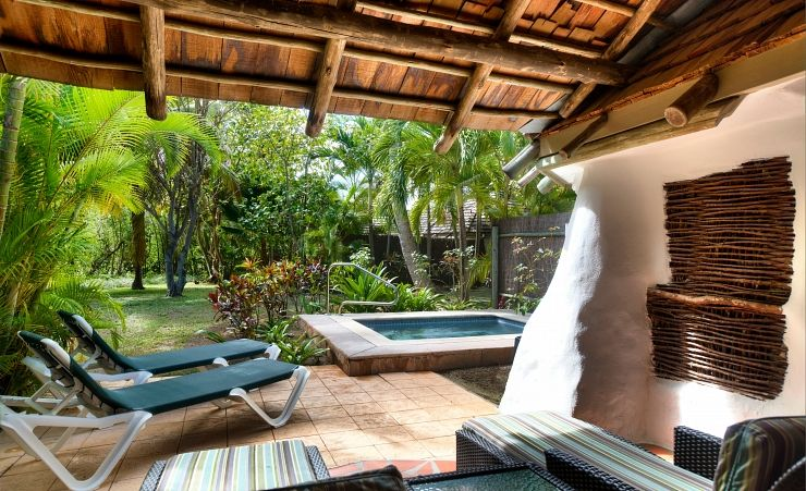 Gauguin Cottage Sundeck And Pool