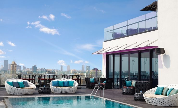 Rooftop Terrace And Pool