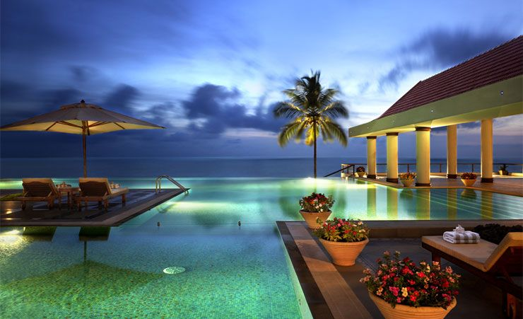 Infinity Pool at Dusk