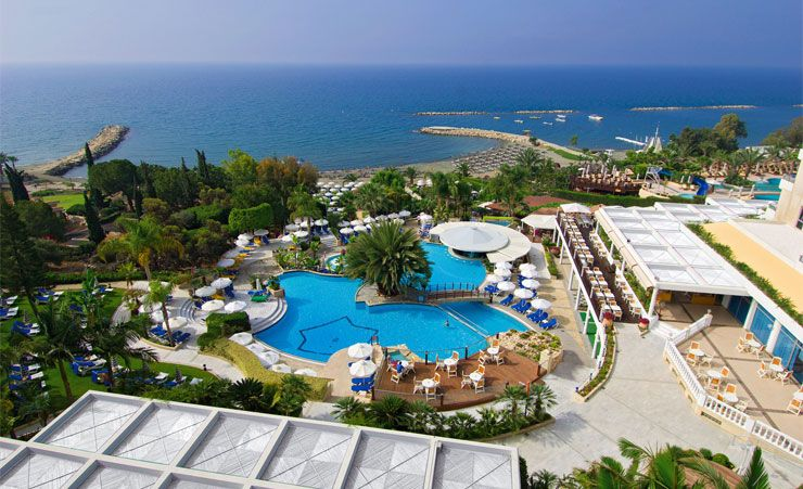 Mediterranean Beach Hotel Limassol Hotels In Cyprus Mercury Holidays
