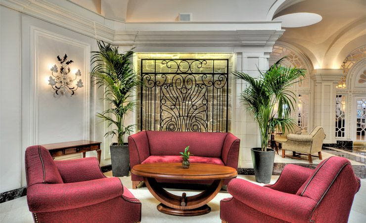 Palm Court Lounge Seating