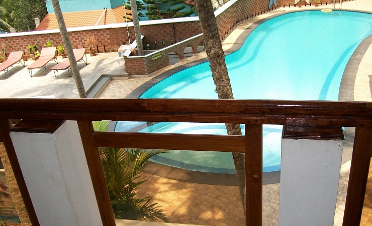 Pool View Balcony