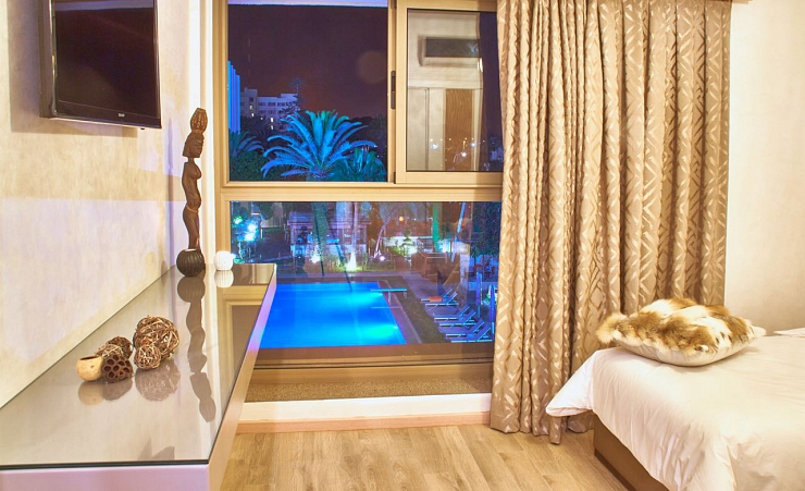 Pool View Room