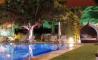 """Pool Area At Night"""