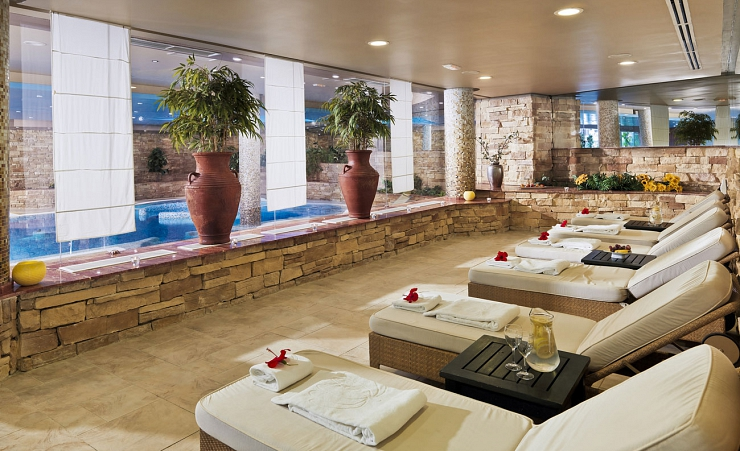 Spa Relaxing Area