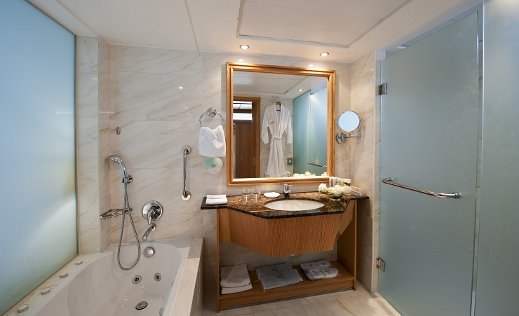 Junior Suite Bathroom With Jacuzzi