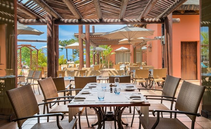 Sheraton la caleta resort and spa costa adeje hotels in for Terrace hotel restaurant