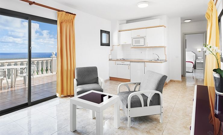 Seaview Apartment Living Area