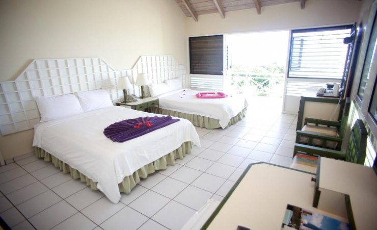 Garden Bungalow Double Beds