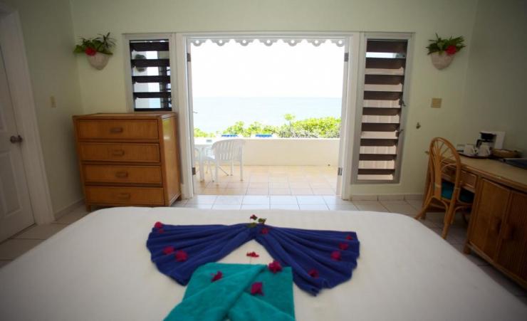 Superior Seaview Bungalow Bedroom