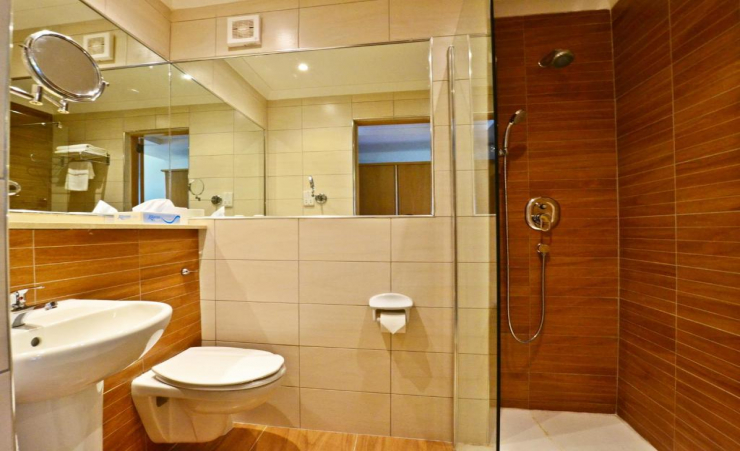 Single Seaview Room Bathroom