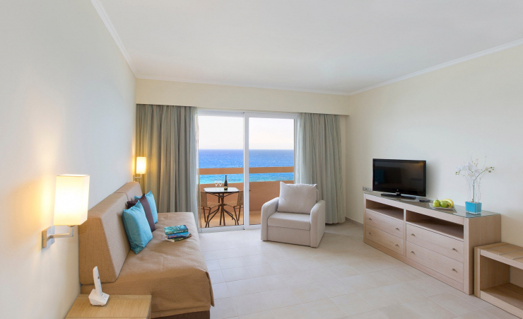 Living Area Seaview Suite
