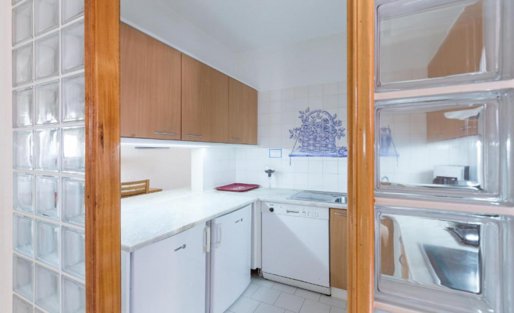 1 Bed Terrace Apartment Kitchen 2
