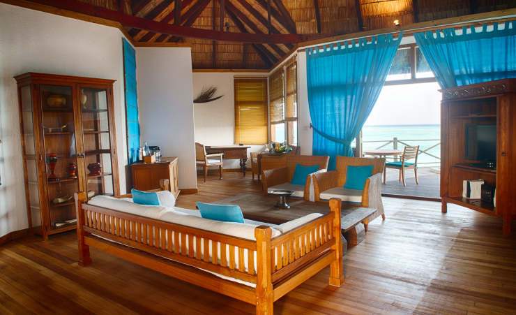 Sunset Lagoon Villa Living Room