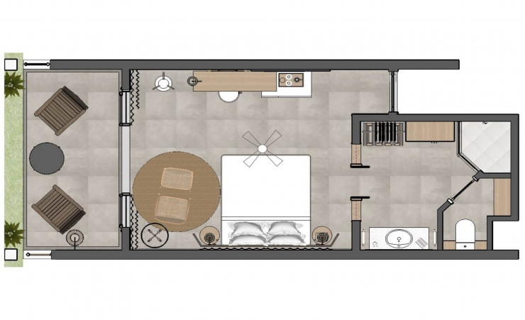 Superior Room Floorplan
