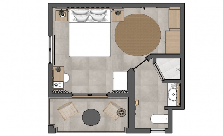 Comfort Room Floorplan