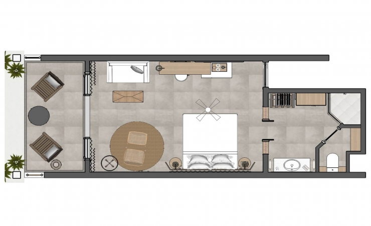 Privilege Room Floorplan
