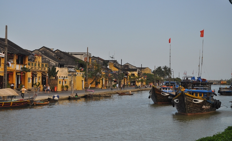 """Boats In Hoi An"""