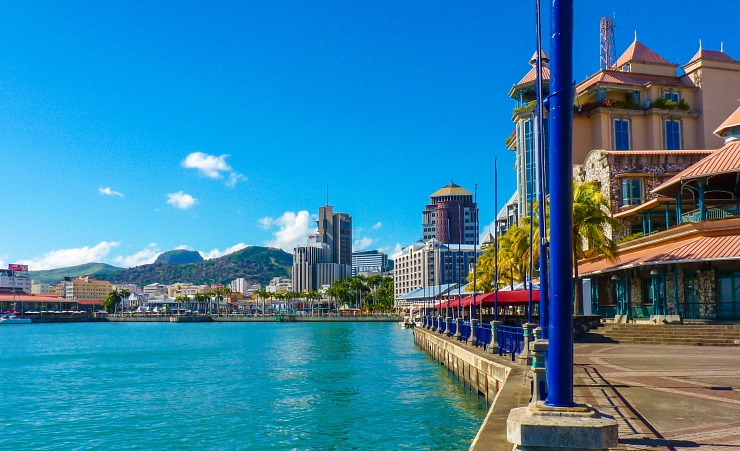 """Port Louis Waterfront"""