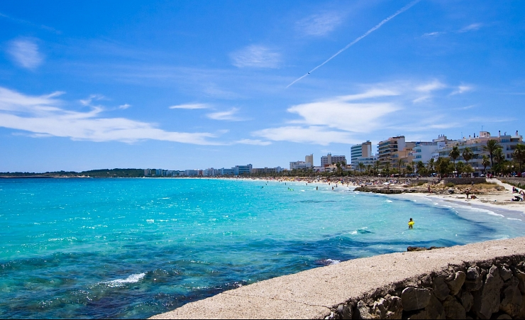 """Cala Millor Seafront"""