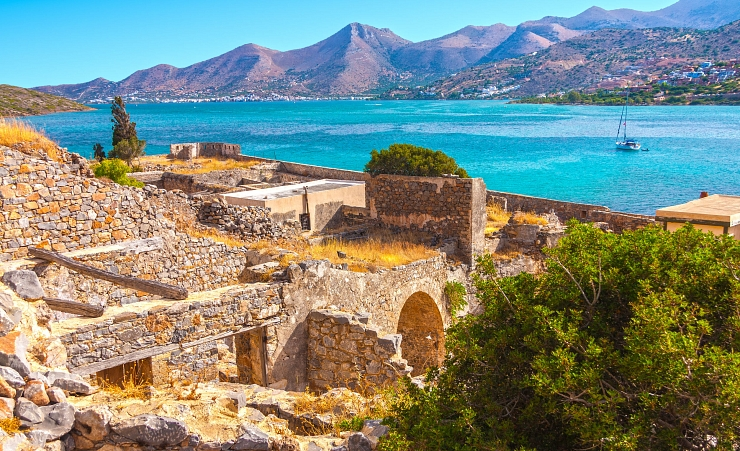 """View From Spinalonga"""