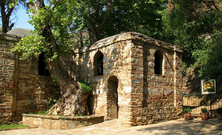 """Virgin Marys House Ephesus"""