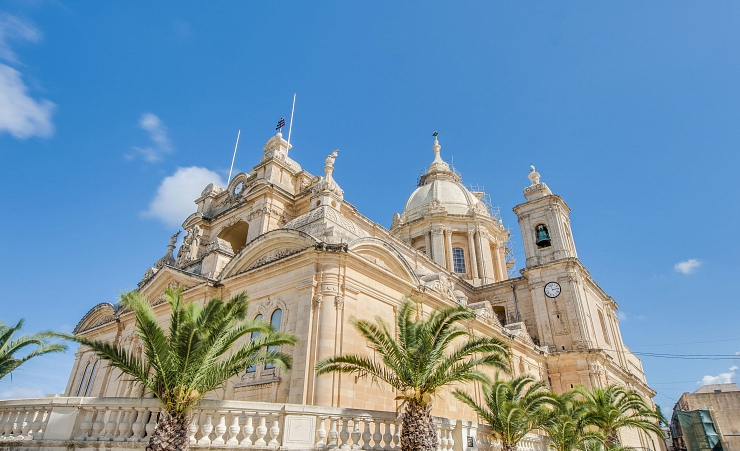 """St Peter And St Paul Church In Nadur"""
