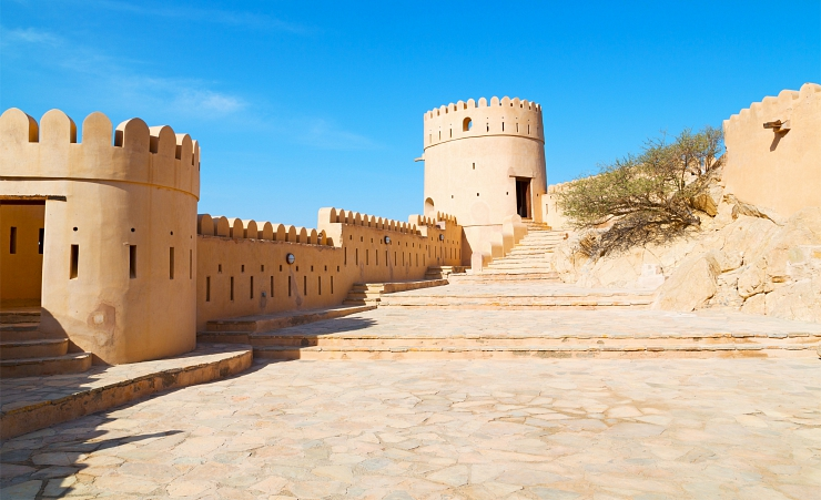 """Omani Fort In Muscat"""
