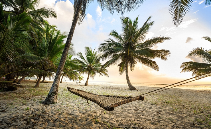 """Hammock On Mombasa Beach"""