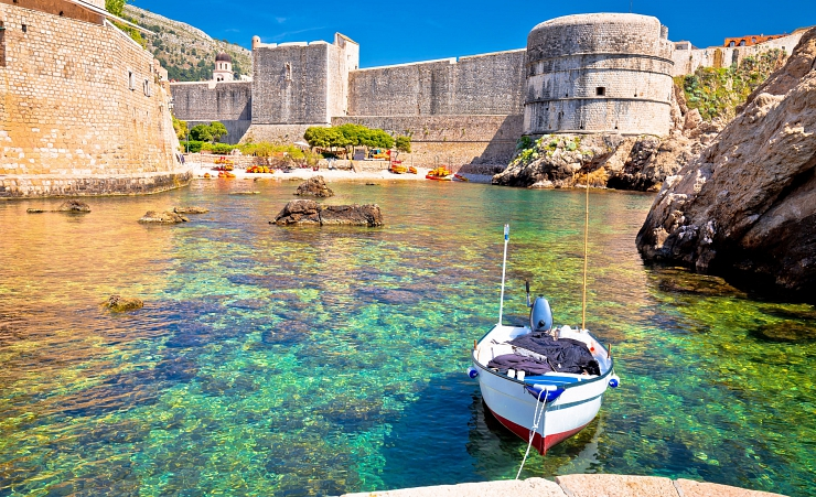 """Dubrovnik Small Habour"""