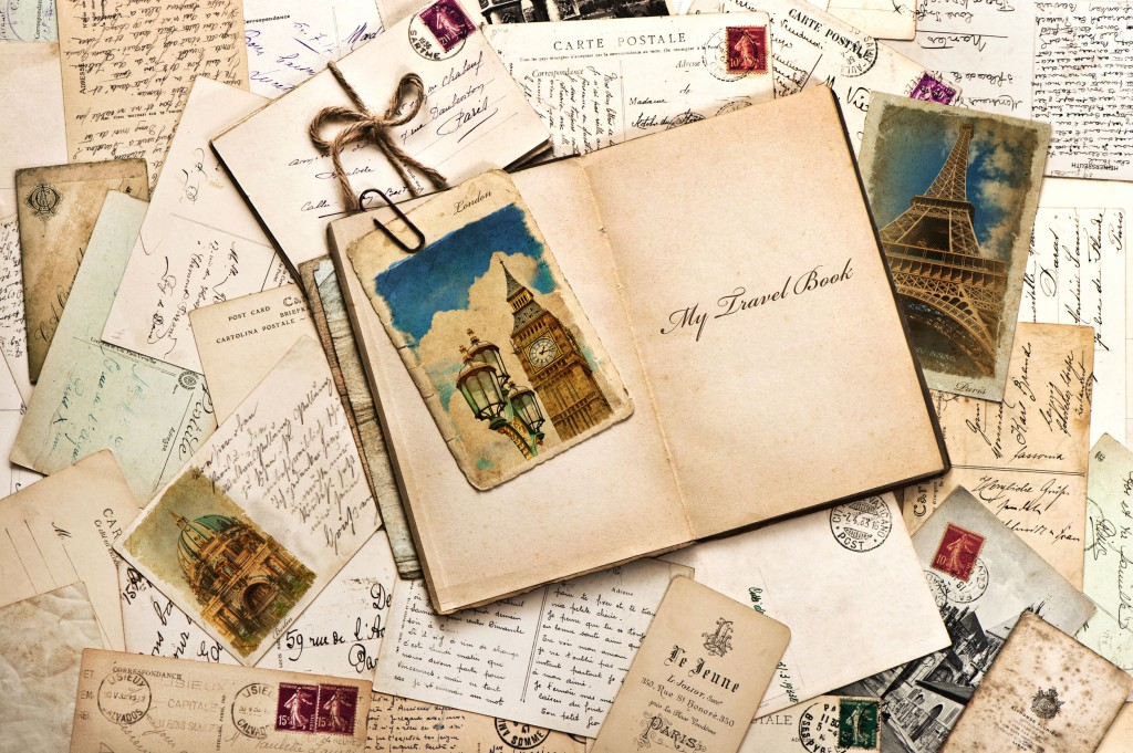 Holiday photo scrapbooks