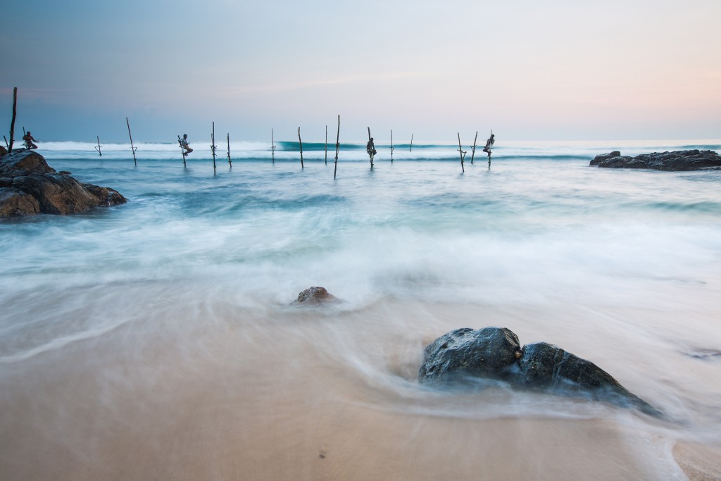 Beach fishermen Sri Lanka