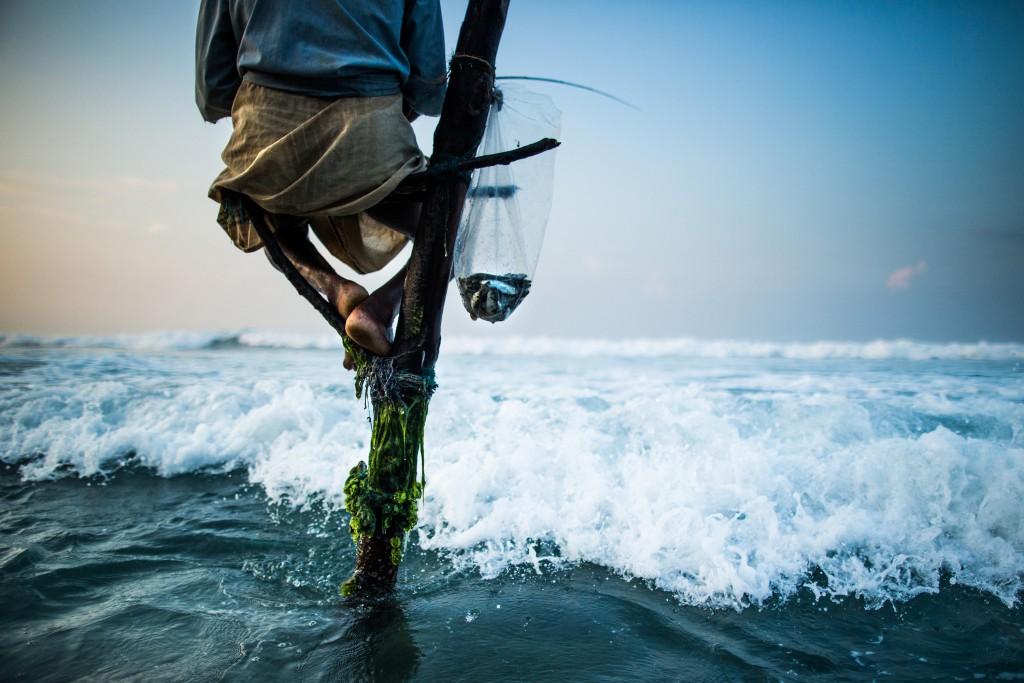 Stilt fisherman-Sri Lanka
